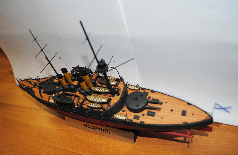 Модели кораблей русско японской войны