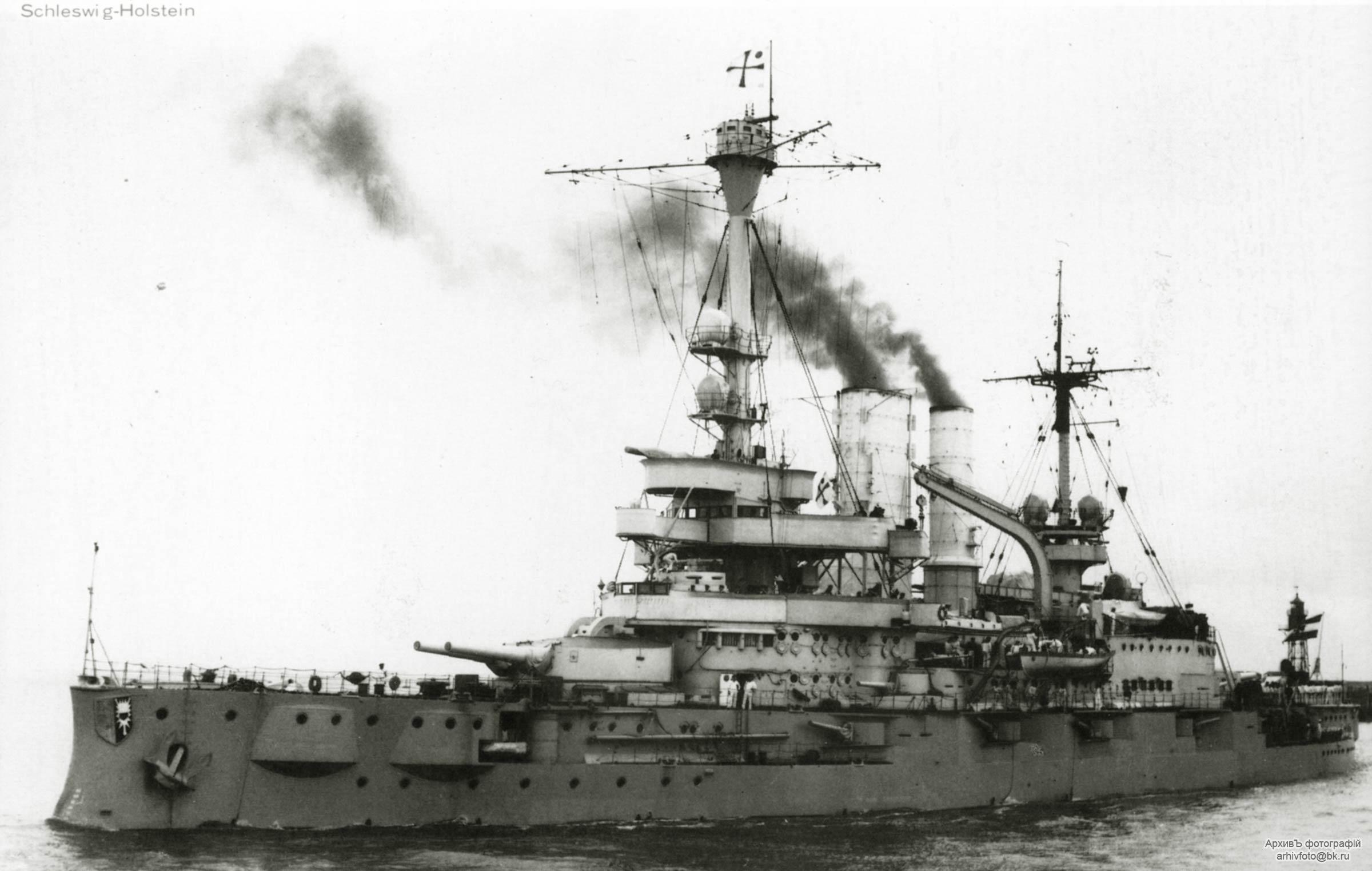Schleswig Holstein Battleship Schleswig-holstein